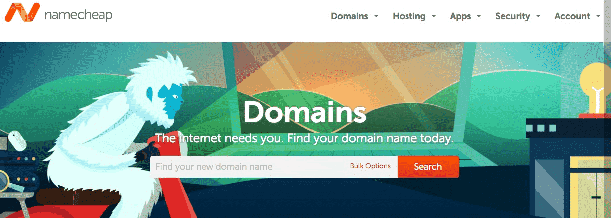 eCommerce Business Domain Registration
